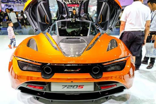 Siêu xe McLaren 720S ra mắt tại Thái Lan 5