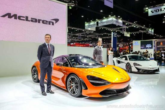 Siêu xe McLaren 720S ra mắt tại Thái Lan