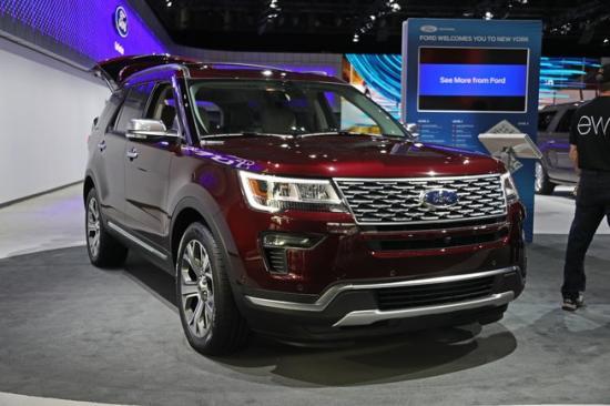 Xe Ford Explorer 2018