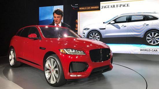 Xe Jaguar F Pace