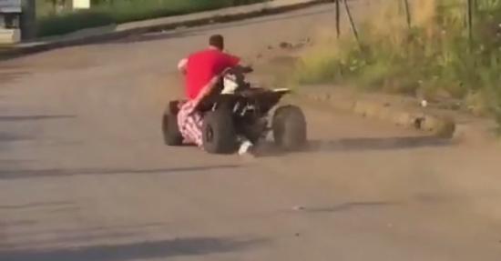 tai nạn xe địa hình