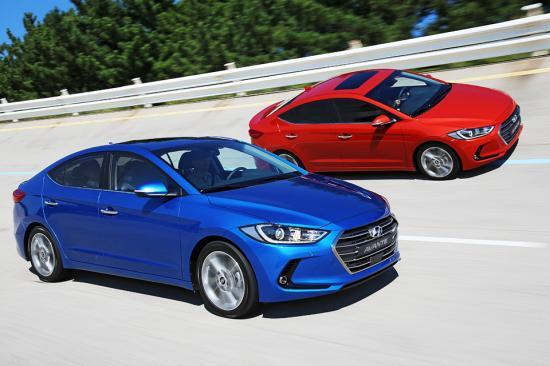 Hyundai Elantra hoàn toàn mới ra mắt tại Hàn Quốc 2