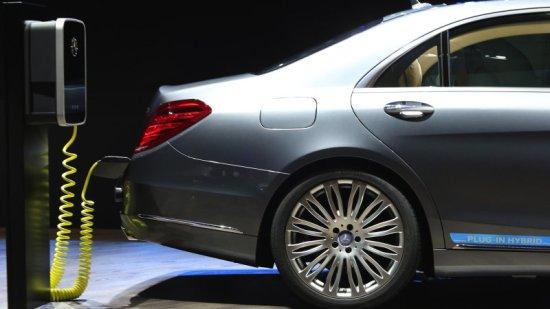 Mercedes xe điện