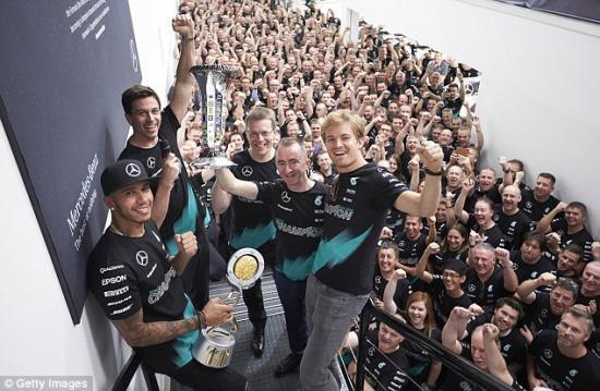 Mercedes-AMG vô địch F1 2015 10