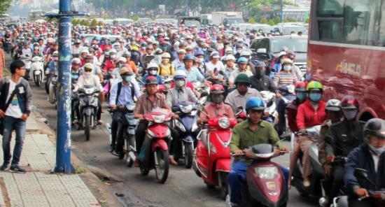 giái pháp cho vấn đề tắc đường