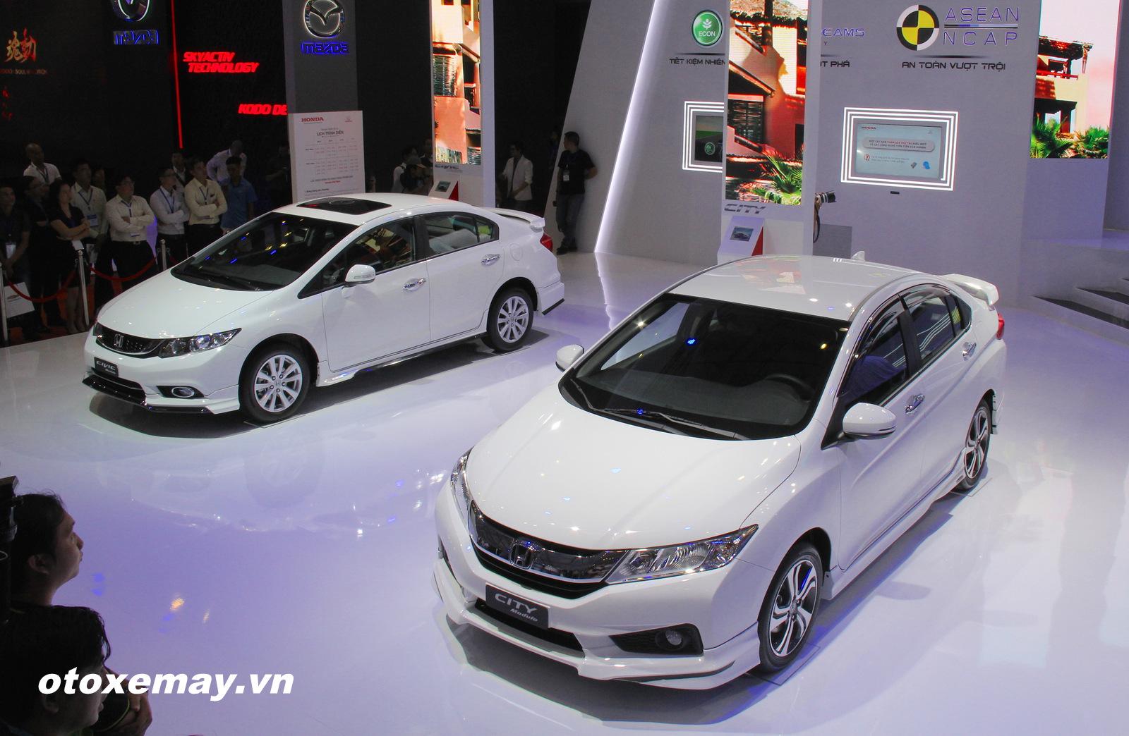 Xe Honda triển lãm ô tô việt nam 2015 (VMS 2015 ) ảnh 4