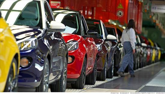 ô tô nhập khẩu về Việt Nam