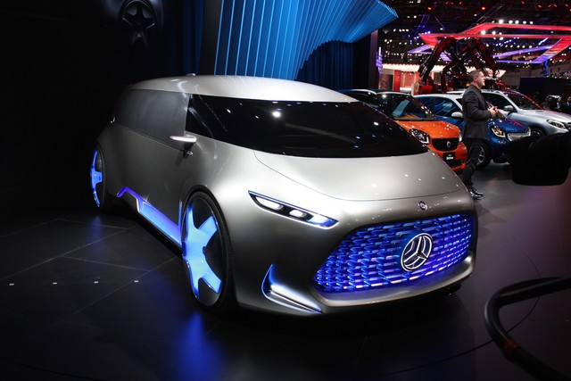 Xe Minivan Mercedes tại Triển lãm tokyo motor show 2015 6