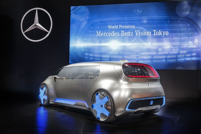 Xe Minivan Mercedes tại Triển lãm tokyo motor show 2015 12