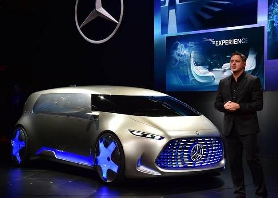 Xe Minivan Mercedes tại Triển lãm tokyo motor show 2015