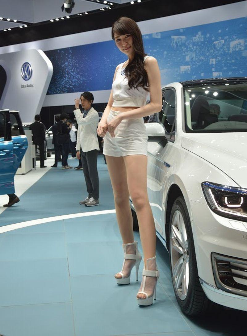 Chân dài tại Triểm lãm ô tô Tokyo 4