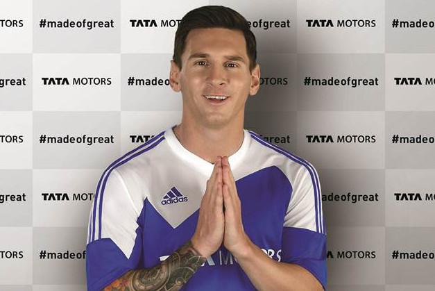 Lionel Messi là đại sứ cho Tata