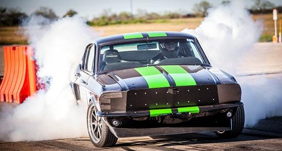 Ô tô điện siêu tốc 20