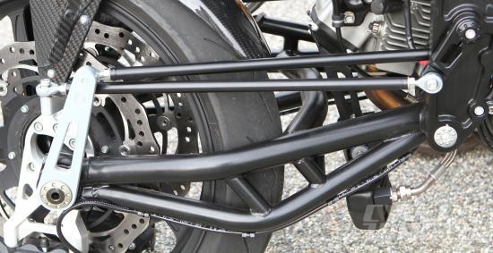 Hệ thống treo trên môtô Bimota Tesi 3 8