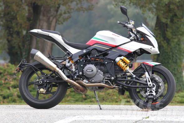 Hệ thống treo trên môtô Bimota Tesi 3 4