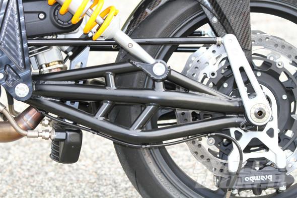 Hệ thống treo trên môtô Bimota Tesi 3 6