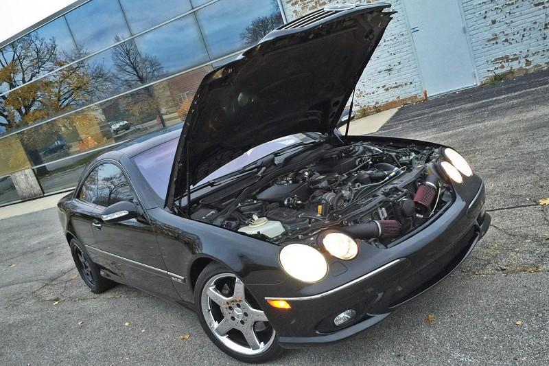 Siêu xế độ Mercedes-Benz CL 600 a4