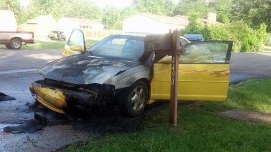 Xe GM vẫn cháy sau khi được sửa