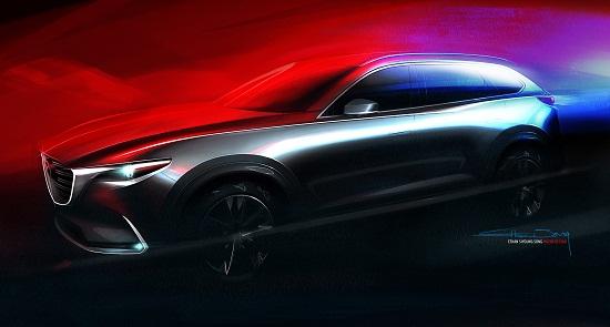 Mazda CX-9 2017 ra mắt 12