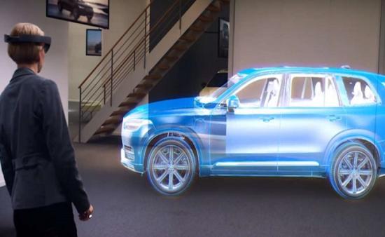 Kính thực tế ảo Volvo 2