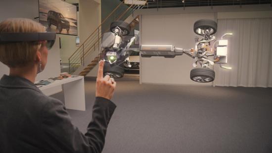 Kính thực tế ảo Volvo 4