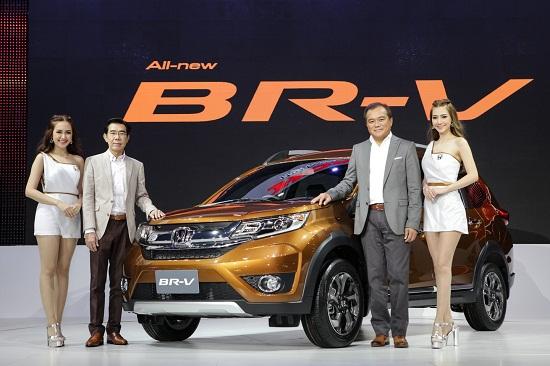 Honda BR-V phiên bản sản xuất