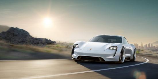 Xe điện Porsche Mission E
