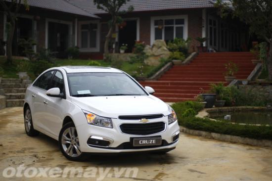 Chevrolet Cruze 2015 giá rẻ chất lượng cạnh tranh