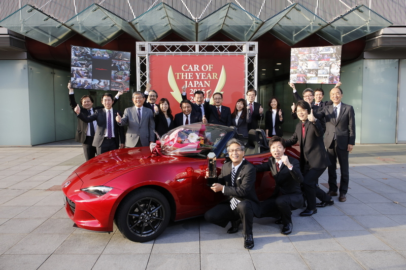 Mazda MX-5 xe của năm