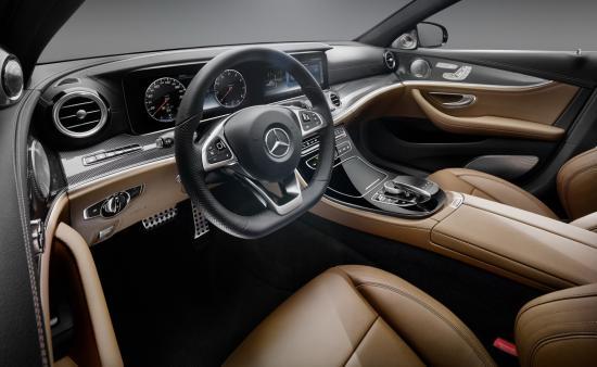 Nội thất Mercedes E-Class 2017 a2
