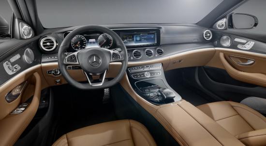 Nội thất Mercedes E-Class 2017 a4