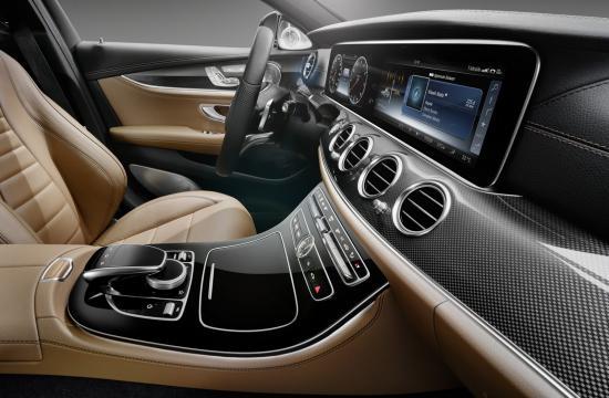 Nội thất Mercedes E-Class 2017 a6
