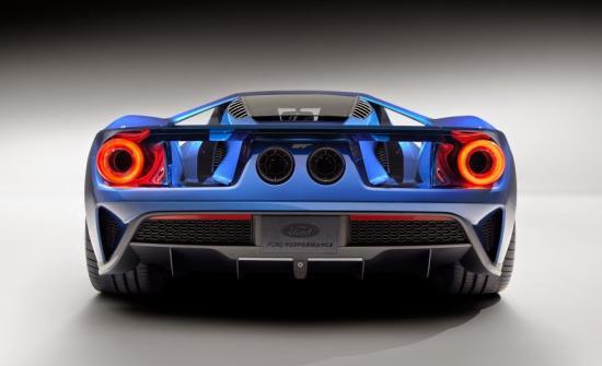 Ford GT sử dụng kính cường lực 4