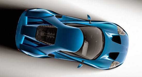 Ford GT sử dụng kính cường lực