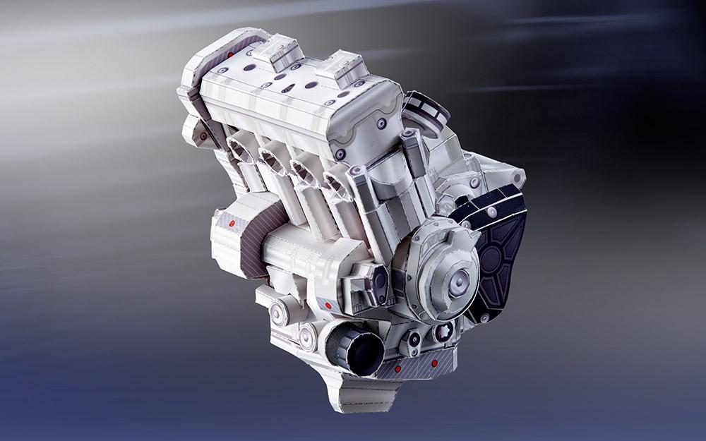 Yamaha YZF-R1M bằng giấy 24