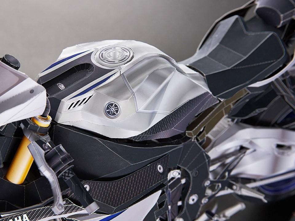 Yamaha YZF-R1M bằng giấy 4