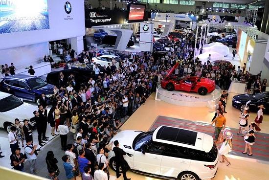 Thị trường ô tô Việt 2015
