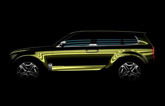 Mẫu concept SUV cỡ lớn của Kia