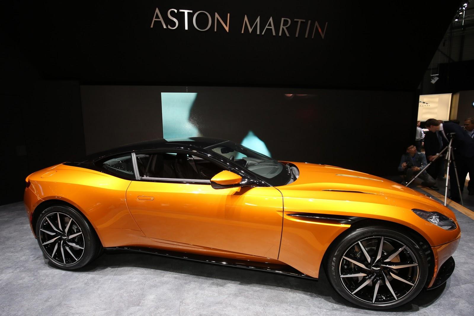 siêu xe db11: kỷ nguyên mới của aston martin