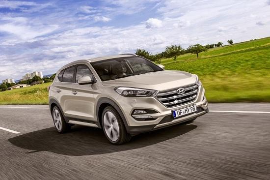 Hyundai Tucson động cơ mới