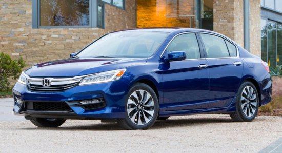 Giá xe Honda Accord Hybrid 2017 từ 29.605 USD với 3 phiên bản