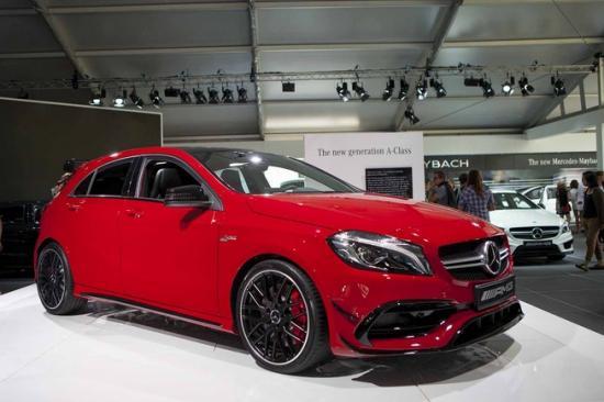 Ra mắt Mercedes-Benz A-Class A2
