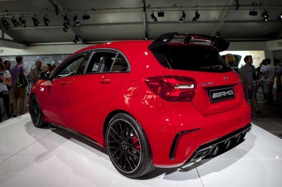 Ra mắt Mercedes-Benz A-Class A5