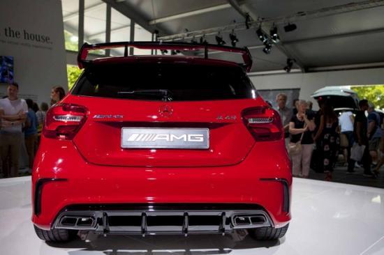 Ra mắt Mercedes-Benz A-Class A6