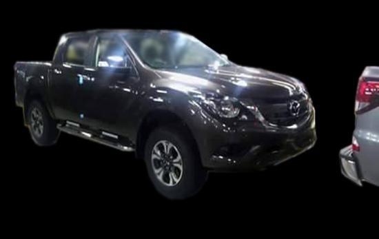 lộ hình ảnh Mazda BT- 50 2016 A4