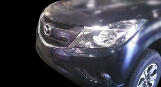 lộ hình ảnh Mazda BT- 50 2016 A5