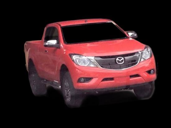 lộ hình ảnh Mazda BT- 50 2016 A8