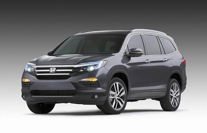 Honda Pilot 2016 bị lỗi dây an toàn A2