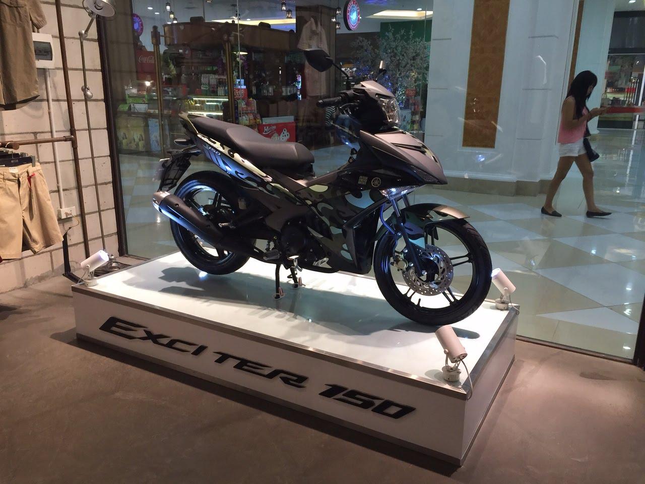 Yamaha Exciter 150 Camo có giá 45,5 triệu A1
