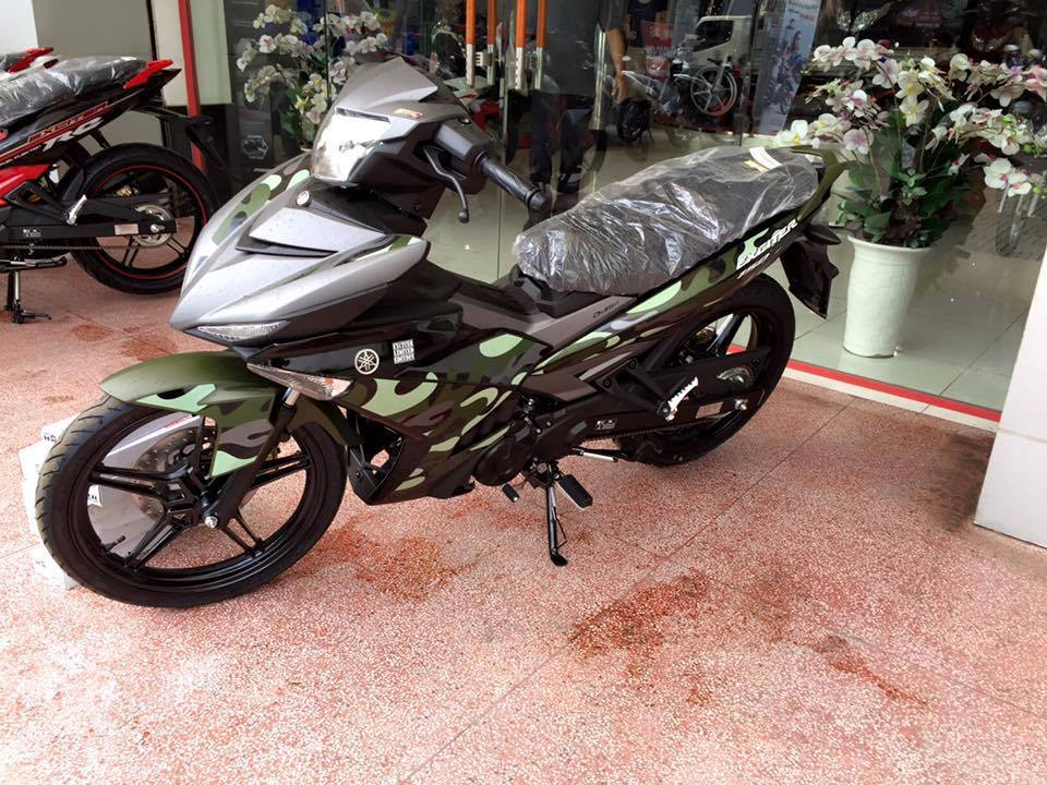 Yamaha Exciter 150 Camo có giá 45,5 triệu A3